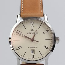 Michel Herbelin Classic Steel 40mm Brown Arabic numerals