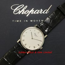 萧邦 163154 Classic White Gold 32mm Winding