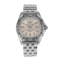 Breitling Galactic 44 Steel 44mm Silver No numerals United States of America, New York, NYC