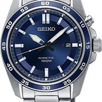 Seiko Kinetic SKA783P1 SEIKO SPORT Kinetic Acciaio Blu 42,6mm новые