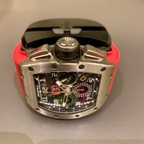 Richard Mille 50mm Automatic 2016 pre-owned RM 011 Transparent