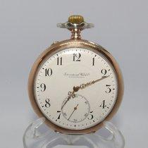 IWC Relógio usado 1917 Prata 65mm Árabes Só o relógio