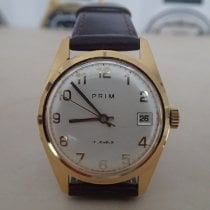 Prim Gold/Steel 34mm Manual winding pre-owned