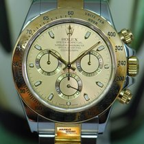 Rolex Daytona Gold/Steel 40mm Gold No numerals