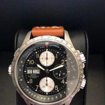 Hamilton Khaki X-Wind pre-owned 44mm Black Chronograph Date Leather