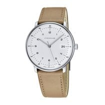 Junghans max bill Quarz Сталь 38mm Cеребро Aрабские