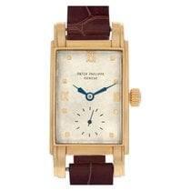 Patek Philippe Vintage Yellow gold 21mm White Roman numerals United States of America, Florida, Surfside