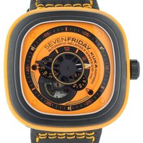 Sevenfriday P1-3 Steel 47mm Orange United States of America, Illinois, BUFFALO GROVE