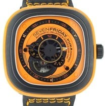 Sevenfriday Steel Automatic Orange 47mm new P1-3