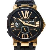 Ulysse Nardin Executive Dual Time Rose gold 42mm Black United States of America, Texas, Houston
