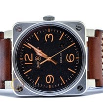 Bell & Ross Steel 42mm Automatic BR0392 pre-owned