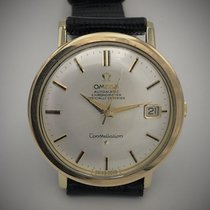 Omega Constellation Goud/Staal 35mm Zilver