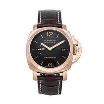 Panerai Luminor Marina 1950 3 Days Automatic Rose gold 42mm Brown Arabic numerals United States of America, Pennsylvania, Bala Cynwyd