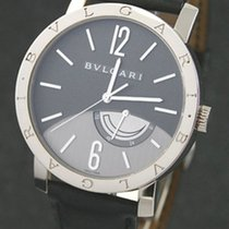 Bulgari White gold Manual winding 41mm pre-owned Bulgari