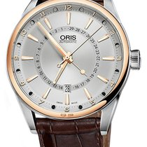 Oris Artix Pointer Gold/Steel 42mm Silver United States of America, New York, Airmont