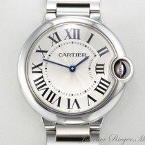 Cartier Ballon Bleu Medium 36 mm Edelstahl