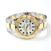 Rolex Yacht Master 40mm Stainless Steel and 18K Gold Mens...