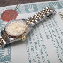 Rolex Lady-Datejust with Champagne Diamond Dial