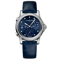 Ulysse Nardin Dual Time Steel 37.5mm Blue