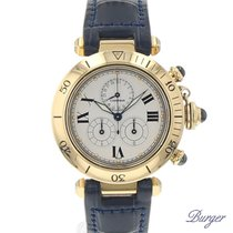 Cartier Pasha Chronograph 35mm 18K Yellow Gold