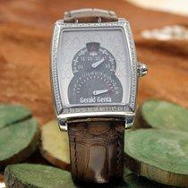 Gérald Genta Chronometer 46.5mm Automatik gebraucht Silber