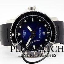 Tissot Seastar 1000 Staal 43mm Blauw Geen cijfers