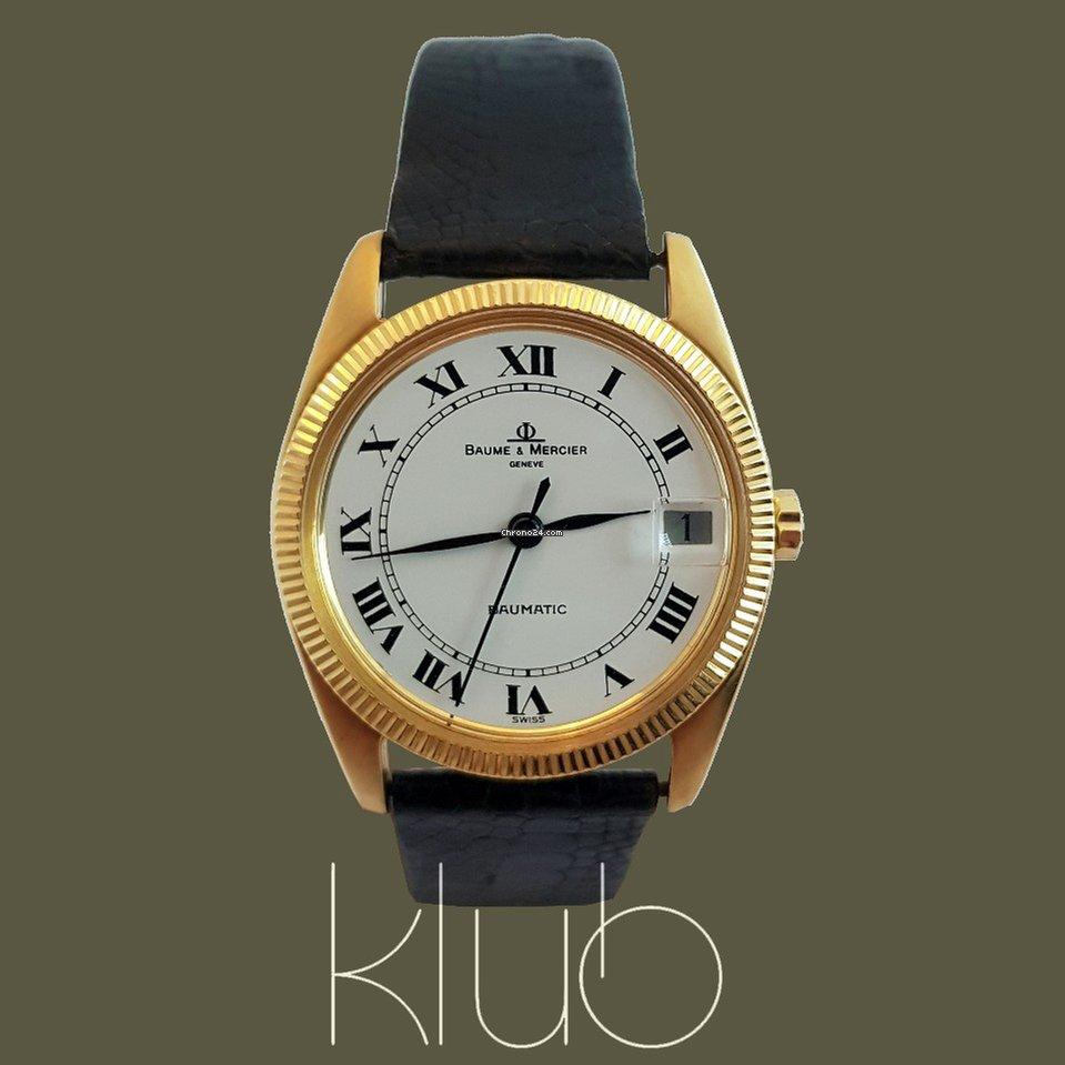b6d1124a58b Comprar relógios Baume   Mercier Ouro amarelo