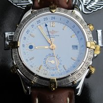 Breitling Duograph Gold/Steel 39mm White Arabic numerals United States of America, Connecticut, Norwalk