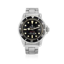 "Rolex ""Double Red"" Sea-Dweller Ref. 1665 in Steel"