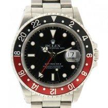 Rolex 16710 Stahl 1994 GMT-Master II 40mm gebraucht Schweiz, Lugano