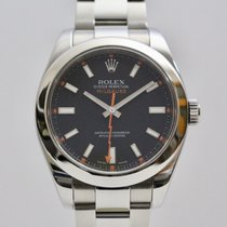 Rolex 40mm Automatic 2009 pre-owned Milgauss Black