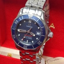 Omega 2224.80.00 Steel 2008 Seamaster Diver 300 M 28mm pre-owned