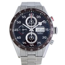TAG Heuer Carrera Calibre 16 Acero 43mm Marrón