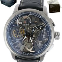 Maurice Lacroix Masterpiece Squelette Staal 45mm Zilver