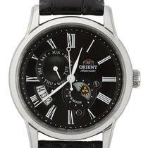 Orient Chronometer 42.5mm Automatic new Black
