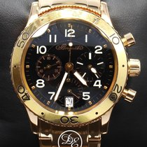 Breguet Rose gold Automatic Black 42mm pre-owned Type XX - XXI - XXII