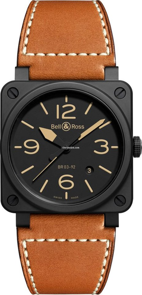 f17a97d6b Bell & Ross BR 03-92 Ceramic - all prices for Bell & Ross BR 03-92 Ceramic  watches on Chrono24