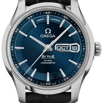 Omega De Ville Hour Vision Steel 41mm Blue United States of America, California, Moorpark