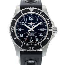 Breitling Superocean II 44 Steel 44mm Black United States of America, Georgia, Atlanta