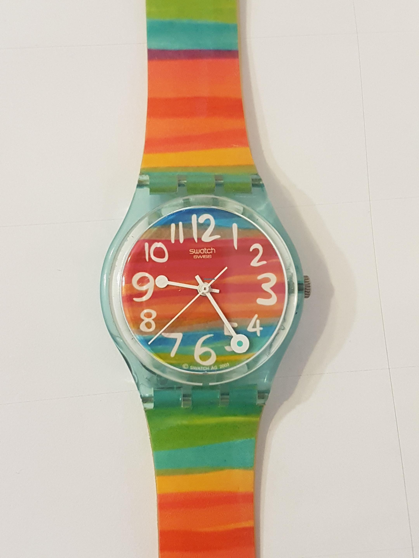 Swatch Por 92 Rainbow € De Vintage Watch En Parte Venta nXk8OP0w