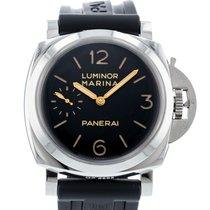 Panerai Luminor Marina 1950 3 Days Сталь 47mm Чёрный