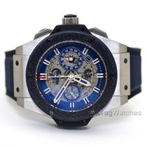 Hublot 701.NQ.0137.GR.SPO14 Titanium 2015 King Power 48mm pre-owned United States of America, Florida, Aventura