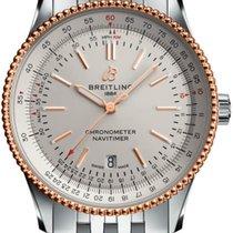 Breitling U17326211G1A1 Gold/Steel Navitimer 41mm new
