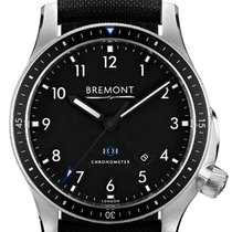 Bremont Steel 43mm Automatic BB1-SS/BK pre-owned