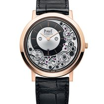 Piaget Rose gold Automatic Black 41mm new Altiplano