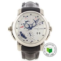 Ulysse Nardin Sonata White gold 42mm No numerals