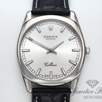 Rolex Cellini Danaos White gold 38mm Silver No numerals