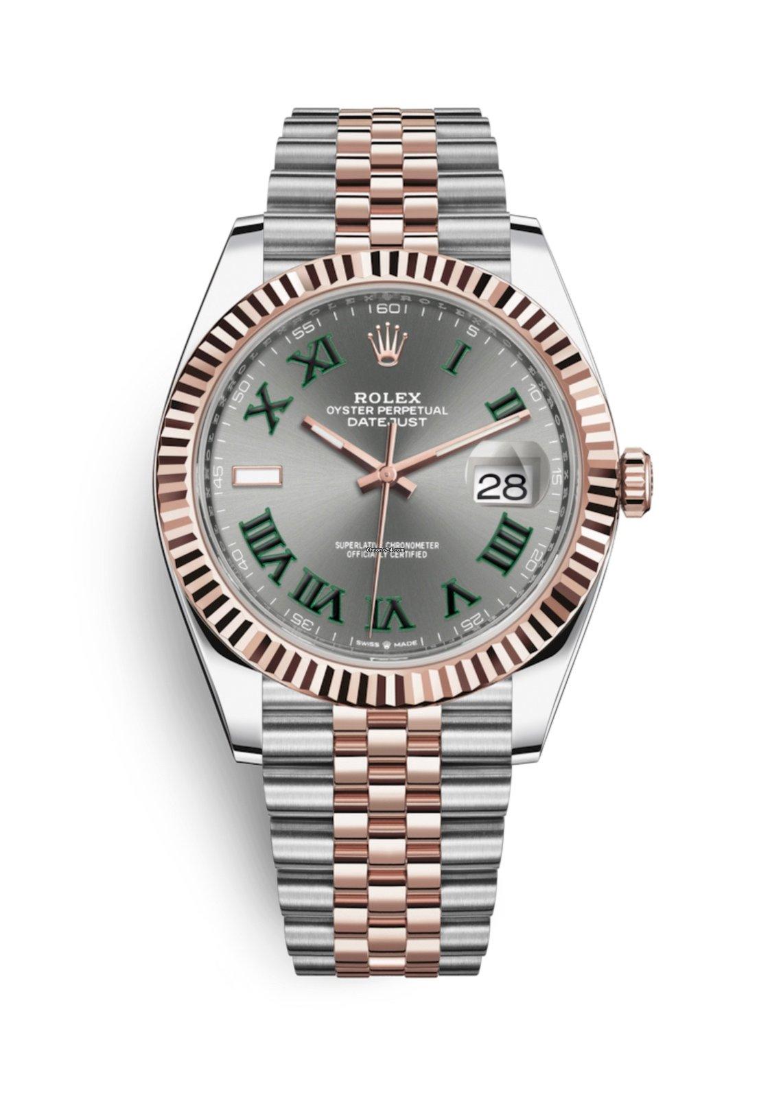 Rolex Datejust 41mm 126331 Jubilee Wimbledon Dial 2018 New