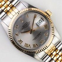 Rolex Datejust 16013 Muy bueno Acero y oro 36mm Automático