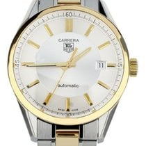 TAG Heuer Carrera Calibre 5 Gold/Steel 39mm Silver United States of America, Illinois, BUFFALO GROVE